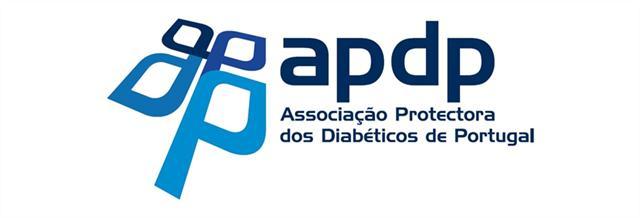 Logótipo da Associação Protectora dos Diabéticos de Portugal.